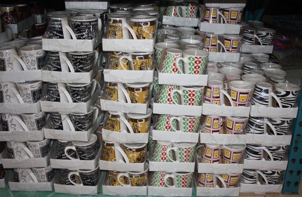 V-Shape 6 pc Mugs