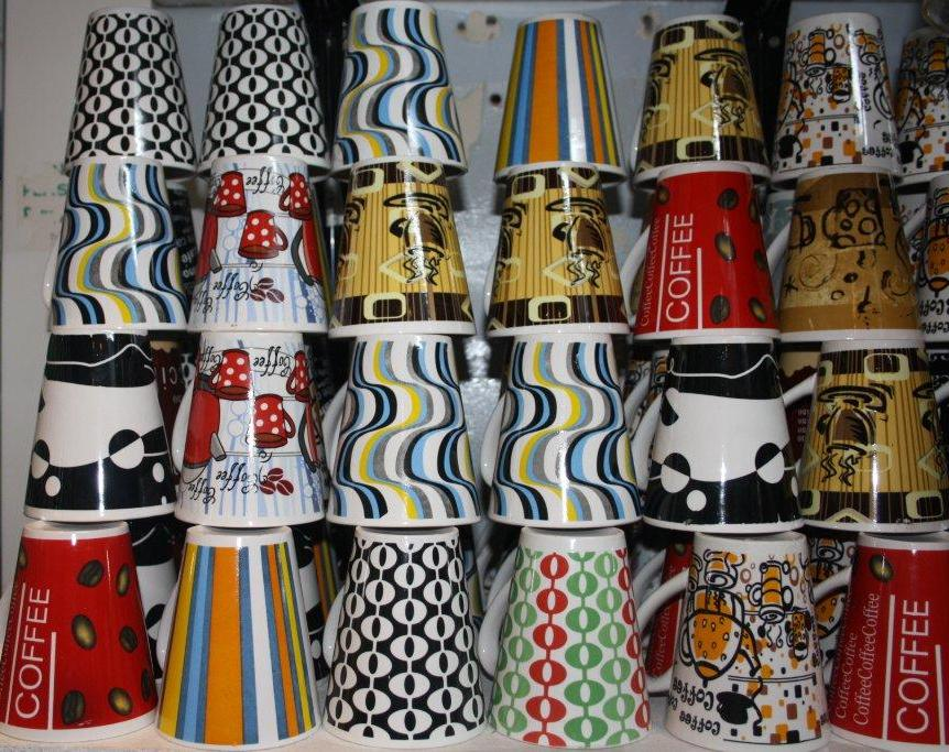 V-Shape loose mugs