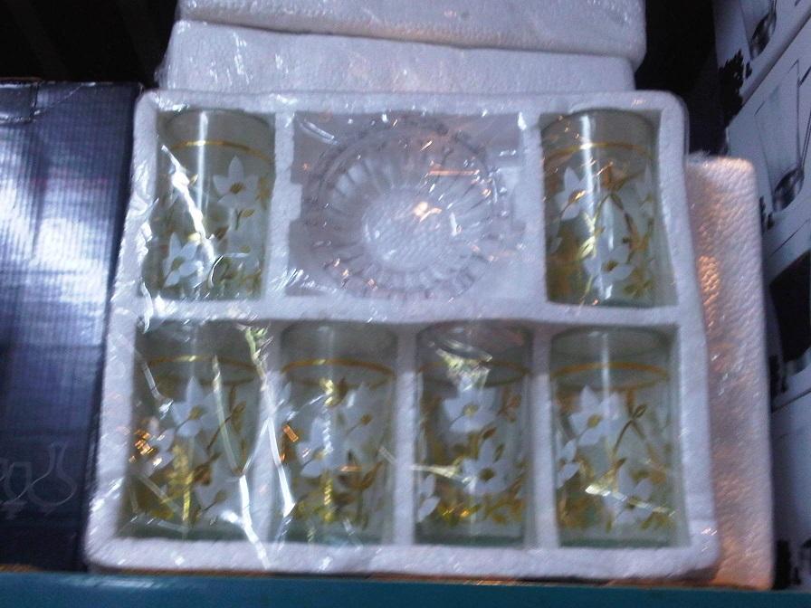 Glass Ashtray Set