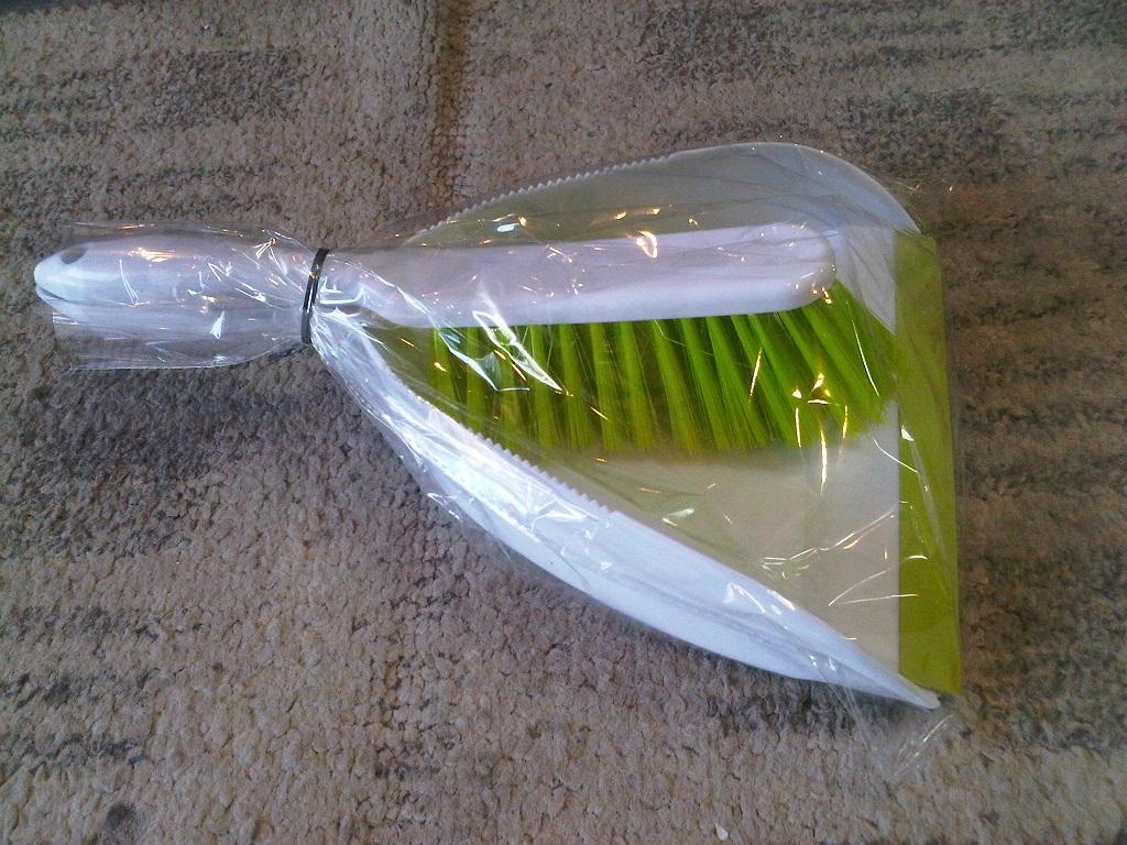Scoop & hand broom