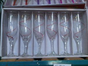 6 pc Champaigne glasses