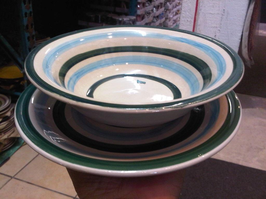 Sour Bowls & side plates