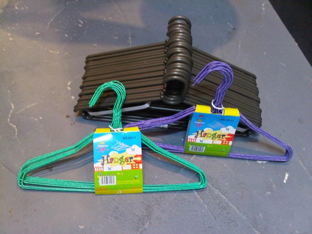 Steel & plastic hangers